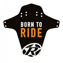 REVERSE Blatník Mudfender - Born to Ride (Black/Fox-Orange)