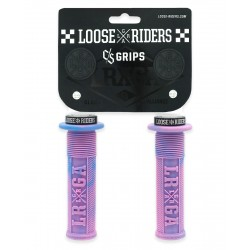 Gripy Loose Riders C/S GRIPS PINK BLUE 31,2mm