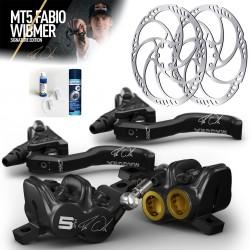 Magura MT5 FABIO WIBMER Signature Edition kotúčové brzdy SET