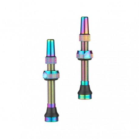 Oil-Slick Bezdušové Ventilky Presta 44mm 1 pár