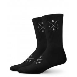 Ponožky Loose Riders Pack X Logo SET 3ks