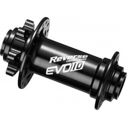 REVERSE Hub EVO-10 Pro Boost Disc FR 32H 110/15mm (Black) Predný náboj