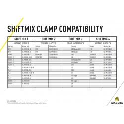 Magura Objímka páky Shiftmix 3 pre SRAM Pravá Silver