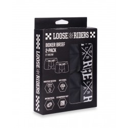 Boxerky Loose Riders BLACK